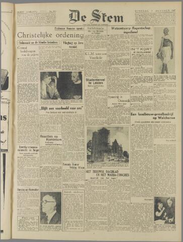 de Stem 1947-10-07
