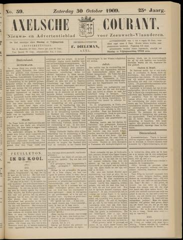Axelsche Courant 1909-10-30