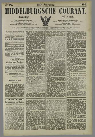 Middelburgsche Courant 1887-04-26