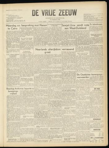 de Vrije Zeeuw 1956-08-30