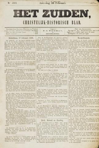 Het Zuiden, Christelijk-historisch blad 1880-02-28