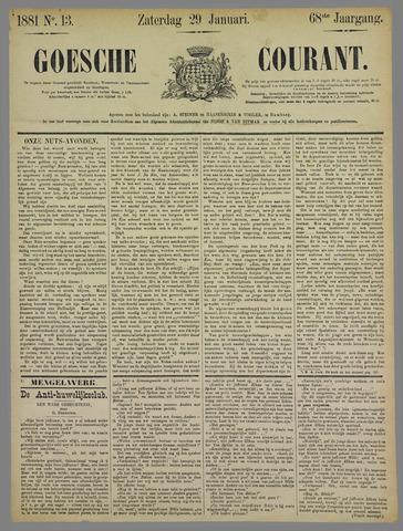 Goessche Courant 1881-01-29