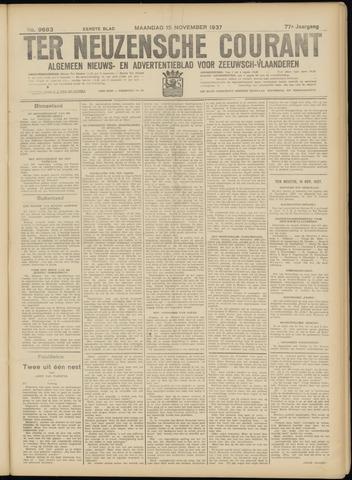 Ter Neuzensche Courant. Algemeen Nieuws- en Advertentieblad voor Zeeuwsch-Vlaanderen / Neuzensche Courant ... (idem) / (Algemeen) nieuws en advertentieblad voor Zeeuwsch-Vlaanderen 1937-11-15