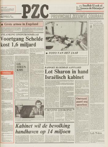 Provinciale Zeeuwse Courant 1983-02-11