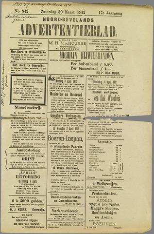 Noord-Bevelands Nieuws- en advertentieblad 1912-03-30