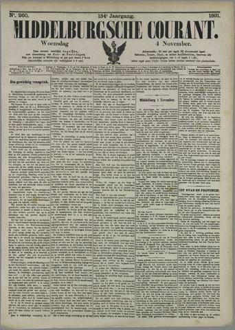 Middelburgsche Courant 1891-11-04