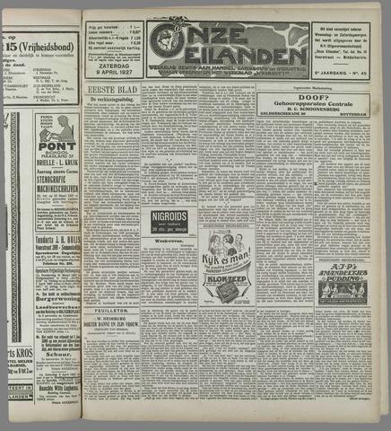 Onze Eilanden 1927-04-09