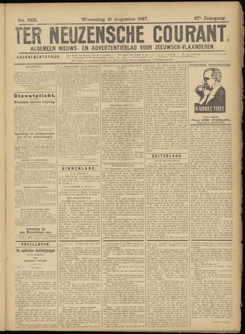 Ter Neuzensche Courant. Algemeen Nieuws- en Advertentieblad voor Zeeuwsch-Vlaanderen / Neuzensche Courant ... (idem) / (Algemeen) nieuws en advertentieblad voor Zeeuwsch-Vlaanderen 1927-08-10