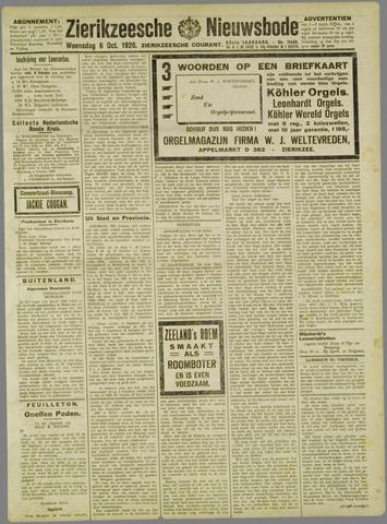 Zierikzeesche Nieuwsbode 1926-10-06