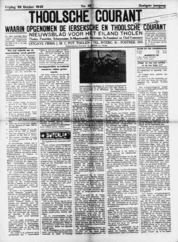 Ierseksche en Thoolsche Courant 1943-10-29