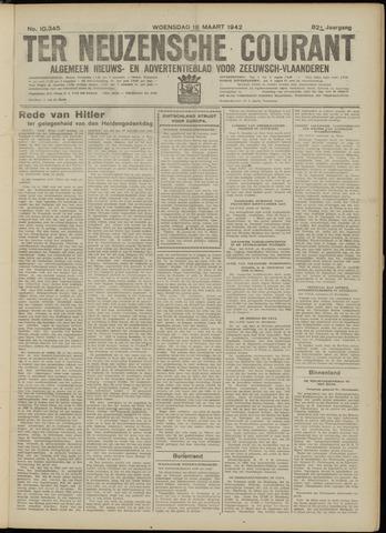 Ter Neuzensche Courant. Algemeen Nieuws- en Advertentieblad voor Zeeuwsch-Vlaanderen / Neuzensche Courant ... (idem) / (Algemeen) nieuws en advertentieblad voor Zeeuwsch-Vlaanderen 1942-03-18