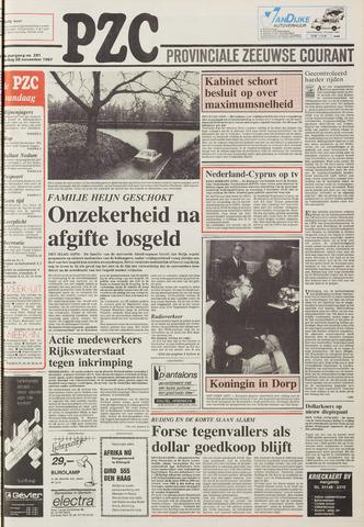 Provinciale Zeeuwse Courant 1987-11-28