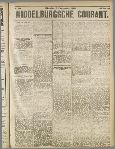 Middelburgsche Courant 1922-11-07