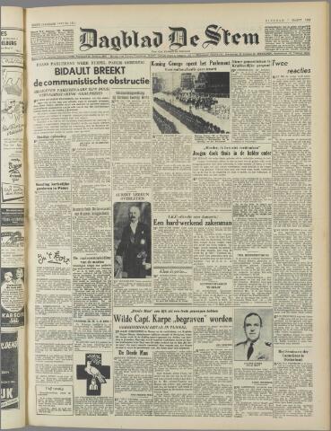 de Stem 1950-03-07