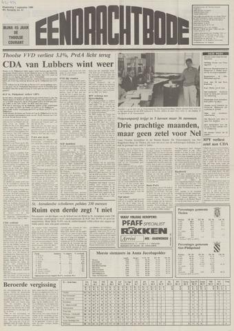 Eendrachtbode (1945-heden)/Mededeelingenblad voor het eiland Tholen (1944/45) 1989-09-07