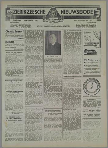 Zierikzeesche Nieuwsbode 1937-12-21