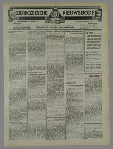 Zierikzeesche Nieuwsbode 1941-06-18