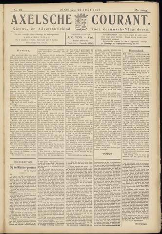Axelsche Courant 1937-06-22