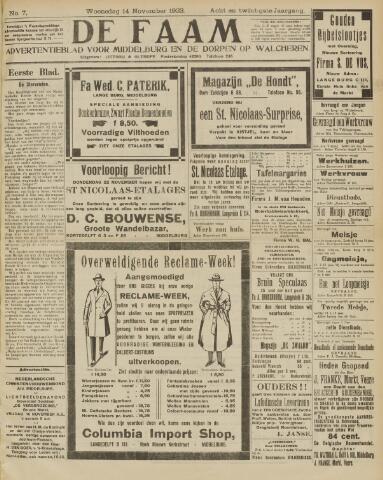 de Faam en de Faam/de Vlissinger 1923-11-14