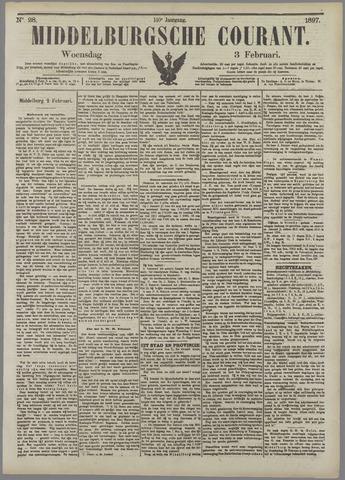 Middelburgsche Courant 1897-02-03