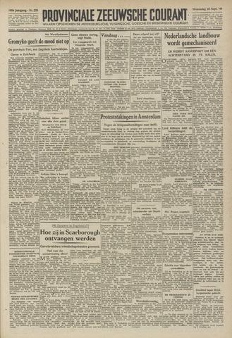 Provinciale Zeeuwse Courant 1946-09-25