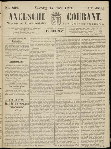 Axelsche Courant 1894-04-14