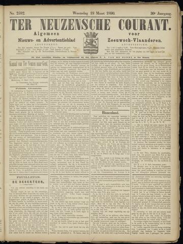 Ter Neuzensche Courant. Algemeen Nieuws- en Advertentieblad voor Zeeuwsch-Vlaanderen / Neuzensche Courant ... (idem) / (Algemeen) nieuws en advertentieblad voor Zeeuwsch-Vlaanderen 1890-03-19