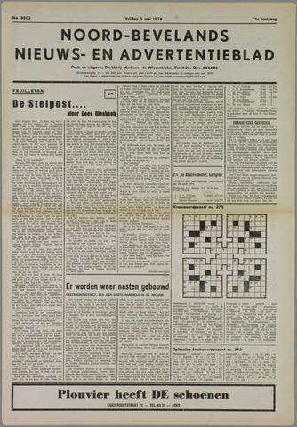 Noord-Bevelands Nieuws- en advertentieblad 1974-05-03