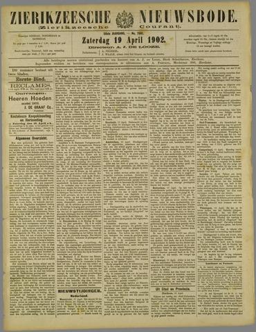 Zierikzeesche Nieuwsbode 1902-04-19