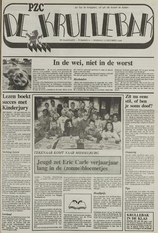 Provinciale Zeeuwse Courant katern Krullenbak (1981-1999) 1988-10-11