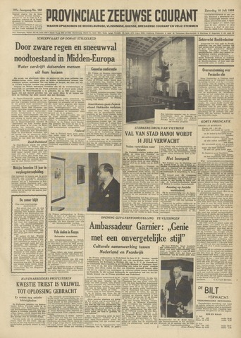 Provinciale Zeeuwse Courant 1954-07-10