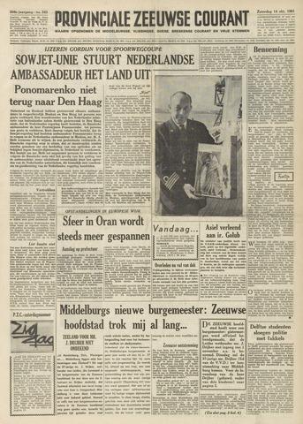 Provinciale Zeeuwse Courant 1961-10-14