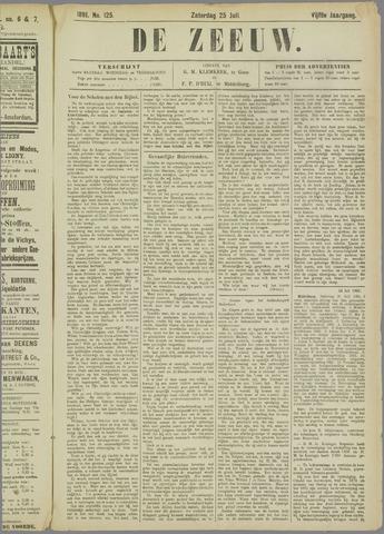 De Zeeuw. Christelijk-historisch nieuwsblad voor Zeeland 1891-07-25