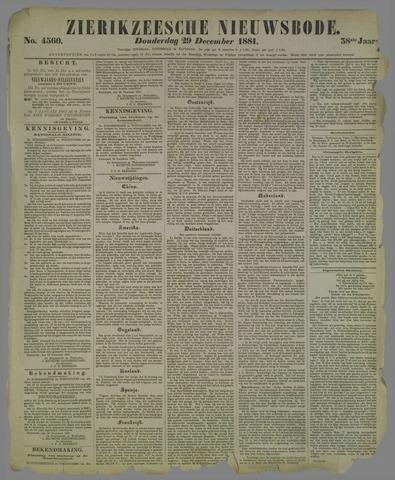 Zierikzeesche Nieuwsbode 1881-12-29