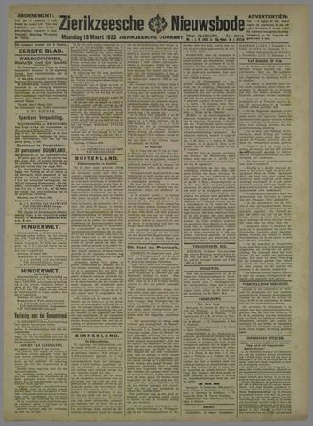 Zierikzeesche Nieuwsbode 1923-03-19