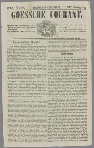 Goessche Courant 1864-09-05