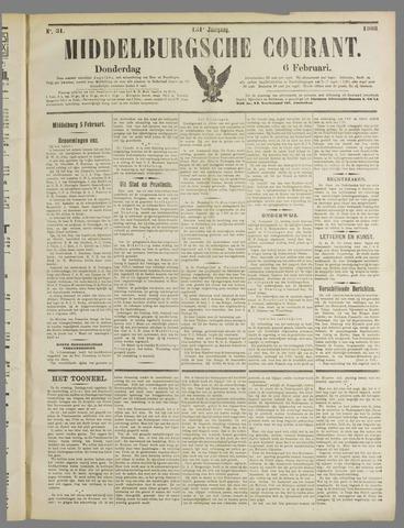 Middelburgsche Courant 1908-02-06