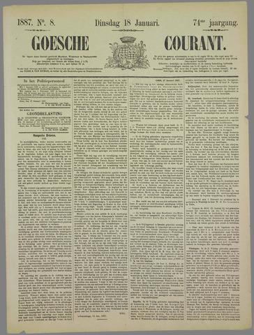 Goessche Courant 1887-01-18