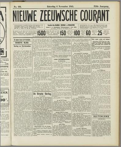 Nieuwe Zeeuwsche Courant 1915-11-06