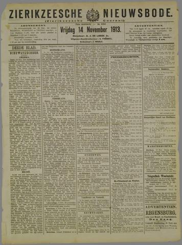 Zierikzeesche Nieuwsbode 1913-11-14