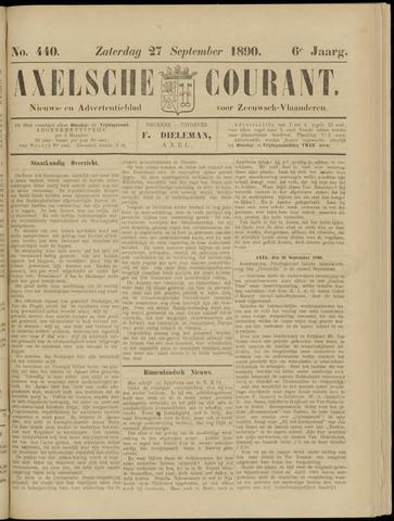 Axelsche Courant 1890-09-27