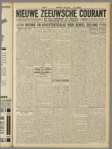 Nieuwe Zeeuwsche Courant 1930-04-03