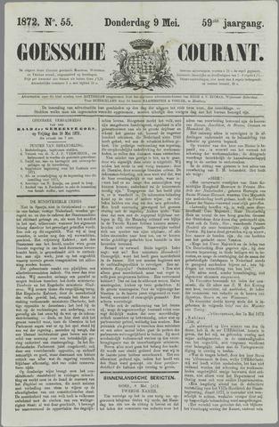 Goessche Courant 1872-05-09