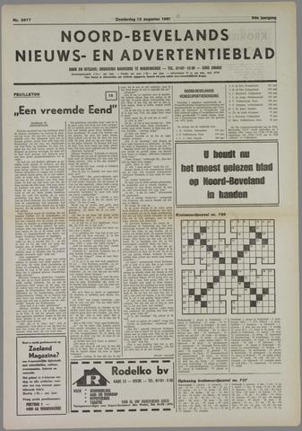 Noord-Bevelands Nieuws- en advertentieblad 1981-08-13