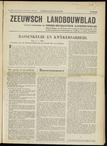 Zeeuwsch landbouwblad ... ZLM land- en tuinbouwblad 1955-01-22