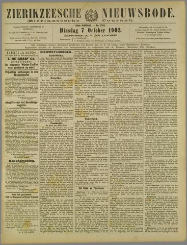 Zierikzeesche Nieuwsbode 1902-10-07