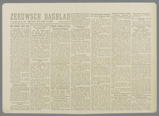Zeeuwsch Dagblad 1945-08-03