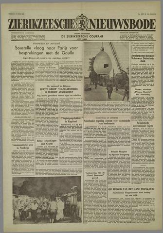 Zierikzeesche Nieuwsbode 1958-06-13