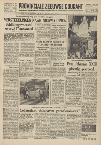 Provinciale Zeeuwse Courant 1958-11-05