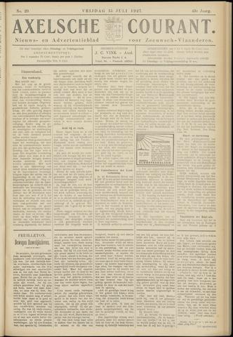 Axelsche Courant 1927-07-15